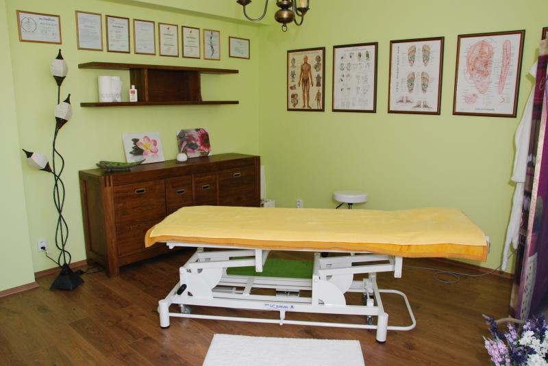 Místnost fyzioterapeuta