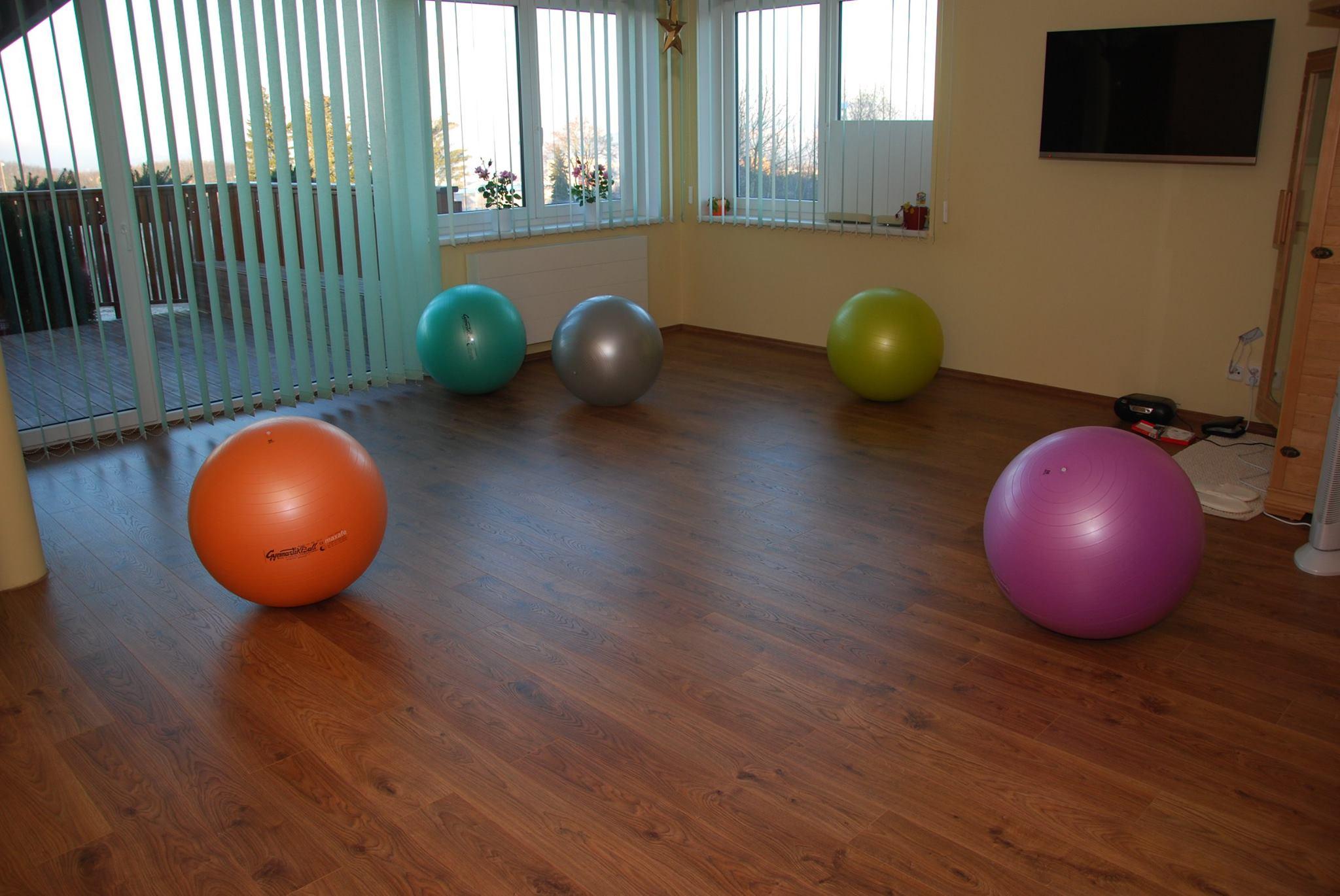 Cvičení na gymbalech